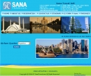Sana Travel,Cheap Website Design, Website Designing, Designers, 5 Page Website, HTML Website, Website Template, Template Designing, One End Solution, Logo Design
